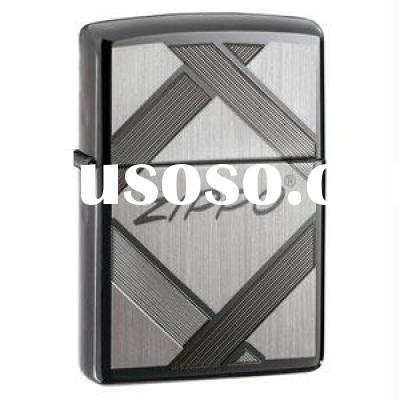 ZIPPO Lighter - 20969 Unparalleled Tradition, Black Ice