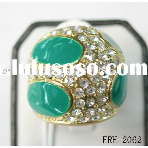 Zircon Rings/diamante rings/wedding rings/steel ring/ Finger rings /beads rings/promotion gifts/fash