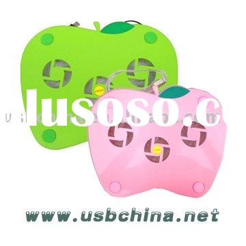 <Apple shape> Laptop Cooling Pad (SY-CP-06) -Good quality