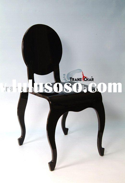 *Rococo-C1*-Louis Chair/Ghost Chair/Acrylic Chair/Acrylic Furniture/Acrylic Dining Chair/School Chai