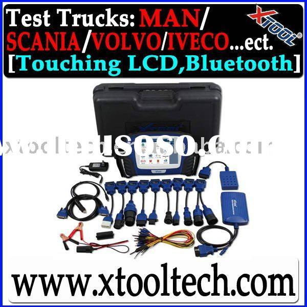 [XTOOL] PS2 Heavy Duty Truck Diag Tool Better Than Launch Heavy Duty
