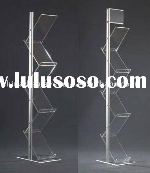 acrylic brochure holder,acrylic menu holder,acrylic leaflet display,acrylic desktop display stand, a
