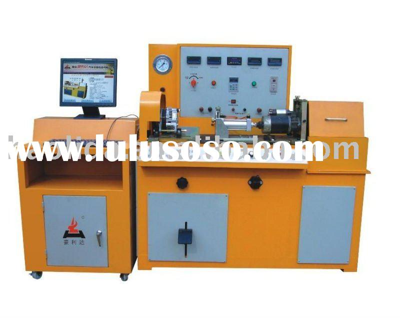 auto alternator and generator and starter motor test bench