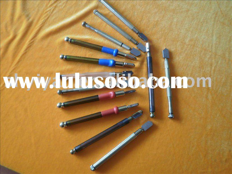 auto oiling glass cutting tool with metal handle