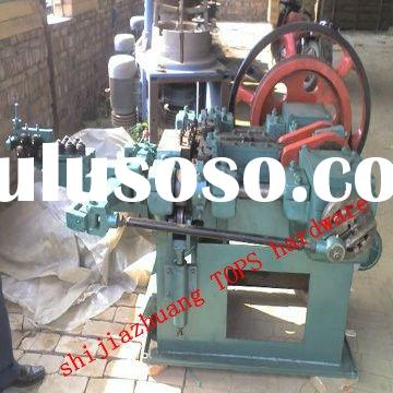 automatic length 10-25mm nails making machine