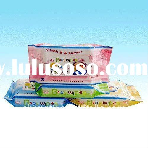 baby wet wipes tissue packaging bag/package pouch or roll