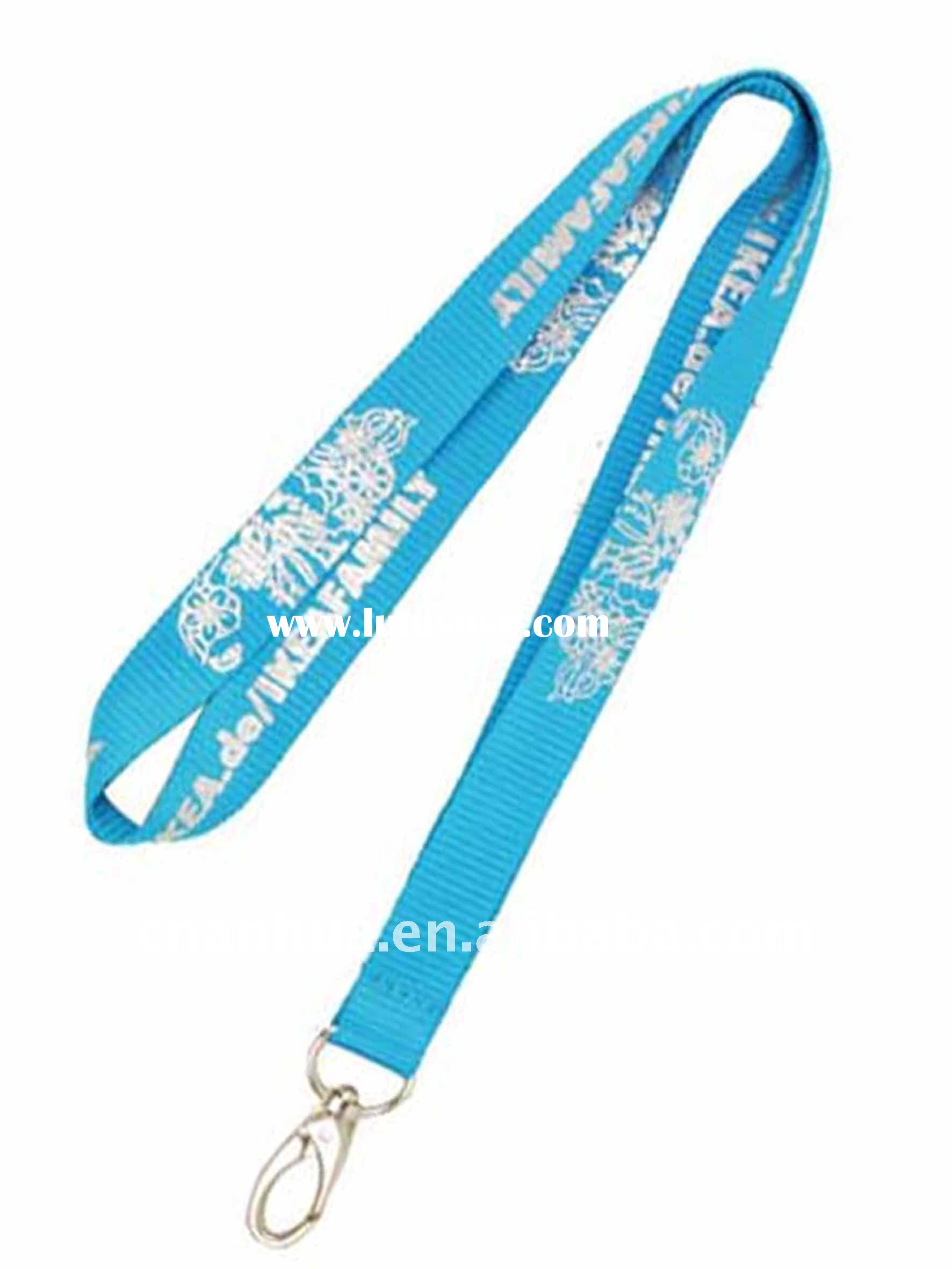 badge holder polyester lanyard