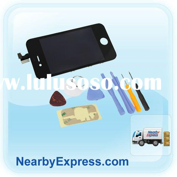 black LCD Touch Screen Digitizer Aassembly for iPhone 4G