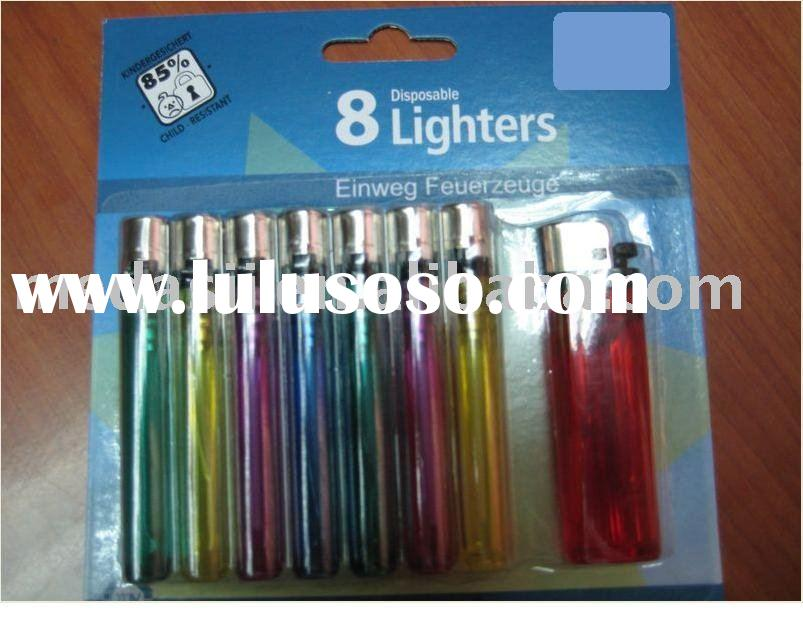blistercard blister 8 pack disposable lighter