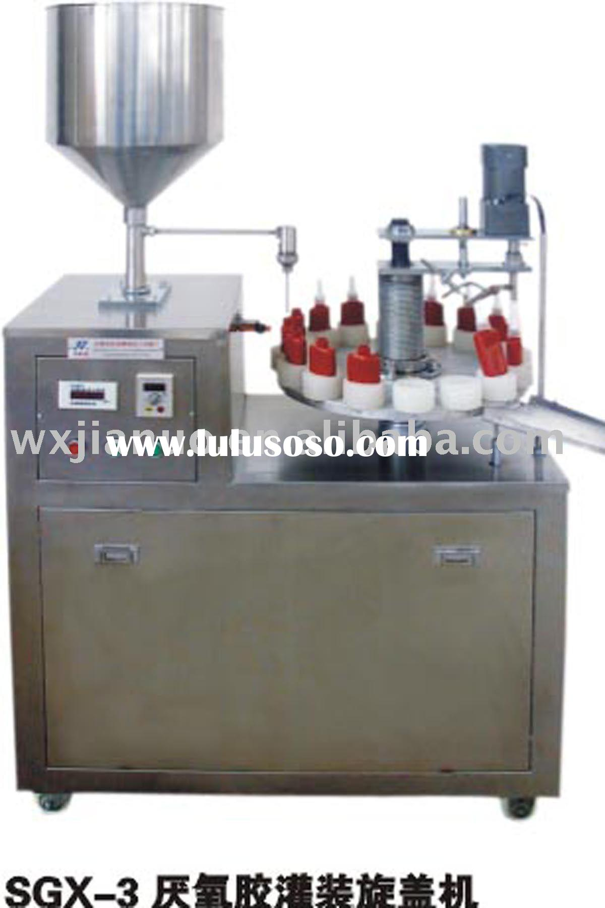 bottles Filling and Capping Machine, liquid bottling machine