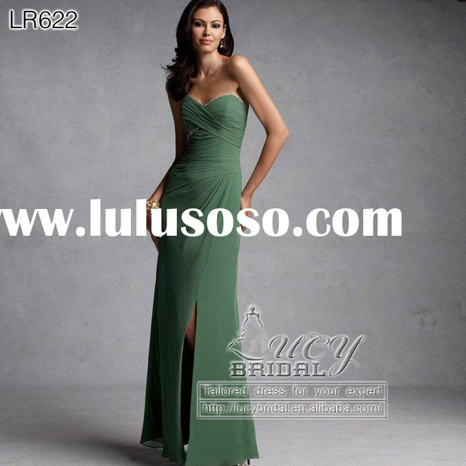 bridesmaid dress LR622 bridal gown evening dress