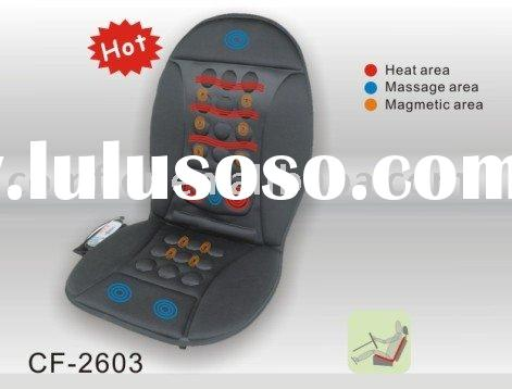 car seat massage cushion with heat magnetic therapy