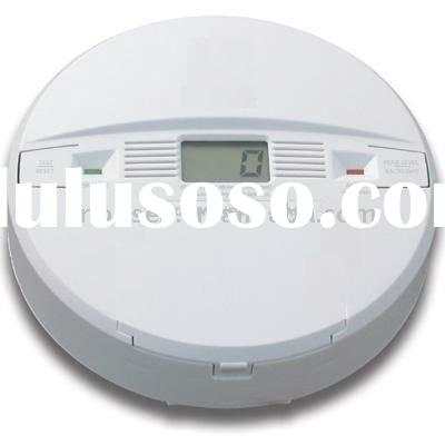 carbon monoxide detector with LCD displayer