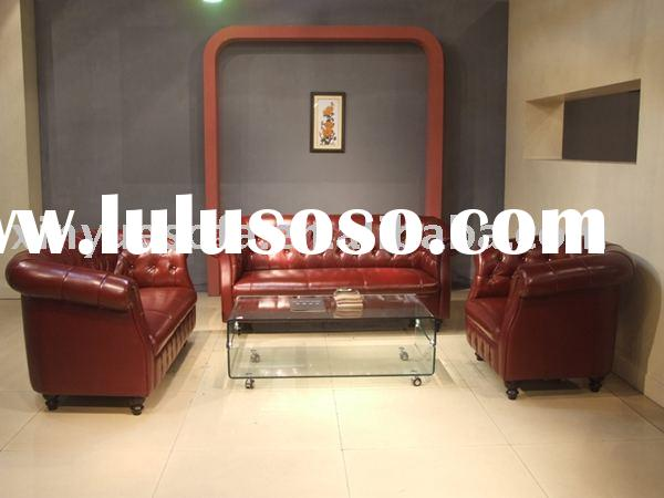 chesterfield sofa ,classic leather sofa,italian leather sofa,European style sofa,