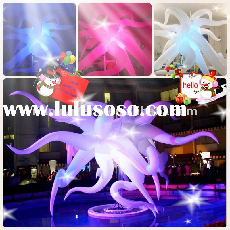 colorful inflatable lighting star party decoration