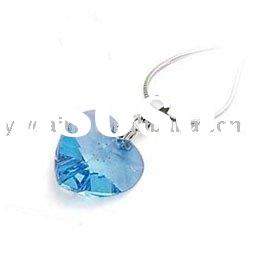 costume jewelry/glass pendant/wholesale products/earrings/heart crystal necklace/rings/fashion jewel
