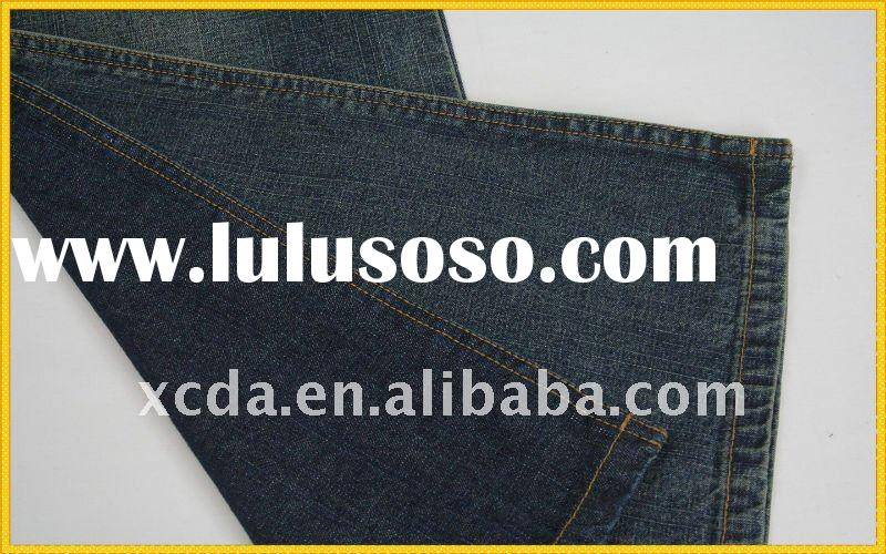 cotton polyester spandex denim fabric