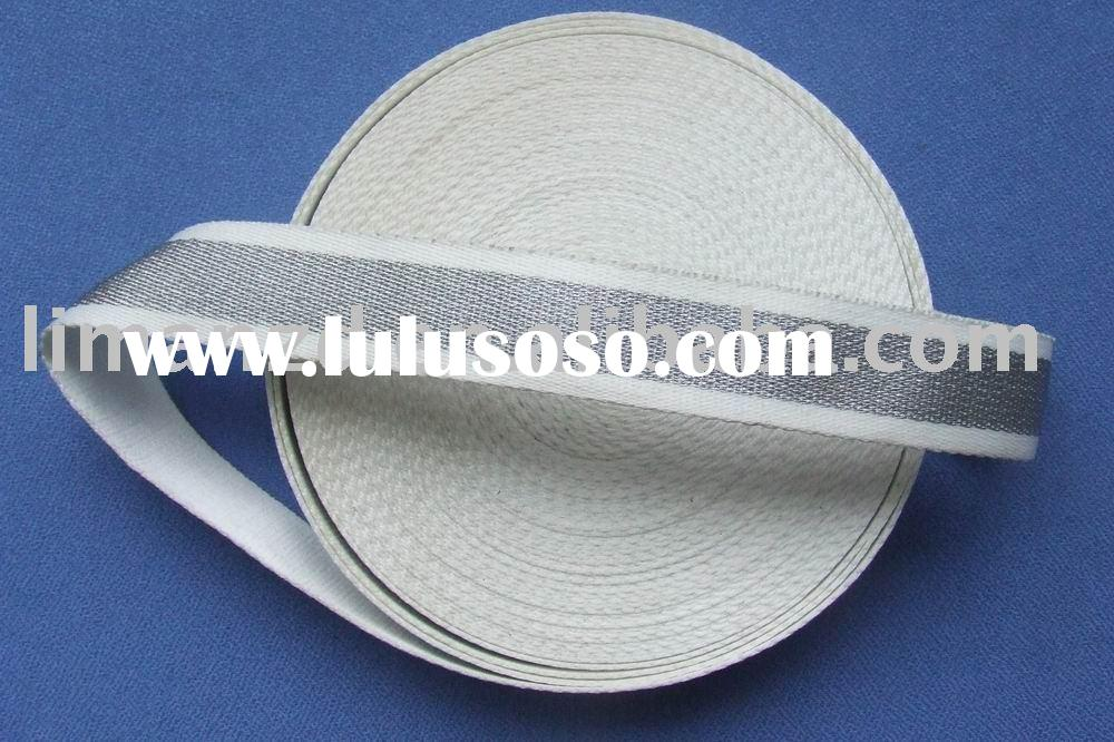 cotton webbing/ woven ribbon/ bag tape/ shoulder belt/ fashion accessories