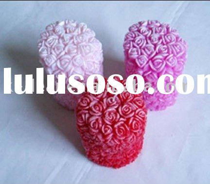 craft flower candles/candle flower handmade