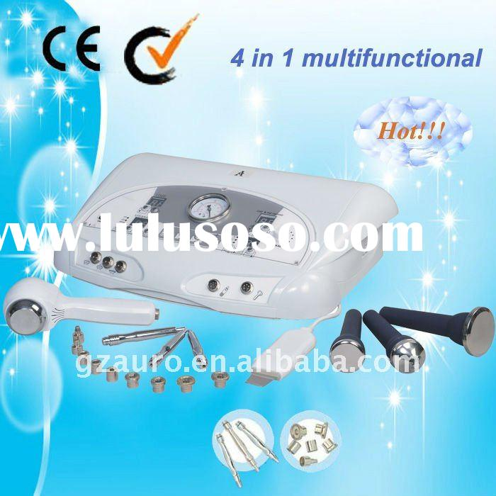 diamond microdermabrasion machine + ultrasonic facial care massager Au-6801