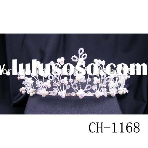 diamond tiara/wedding tiara/pearl tiara/bridal accessory/hair ornaments/crowns/tiaras