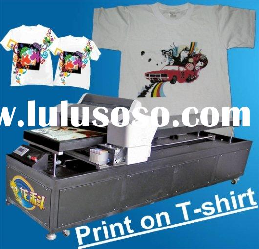 digital flatbed DTG printing machine