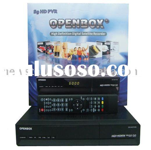 digital set top box Openbox s9 HD PVR,high definition satellite receiver,dvb-s,linux operating syste