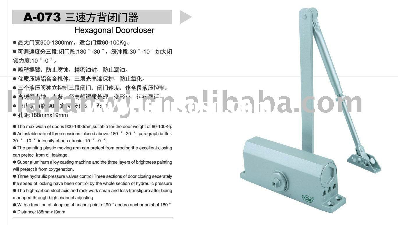 Global door closer r7483 manual.
