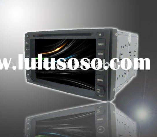 "double din 6.2"" HD car dvd player car gps for nissan"
