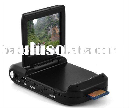 driver recorder mini dvr camera with 2.4inch TFT LCD /120 deree lens 1280*720 ,AV OUT/