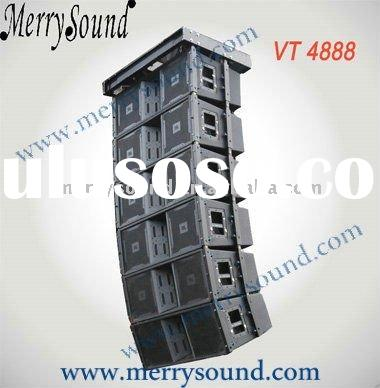 "dual 12"" line array, JBL pro speaker, sound system (VT4888)"
