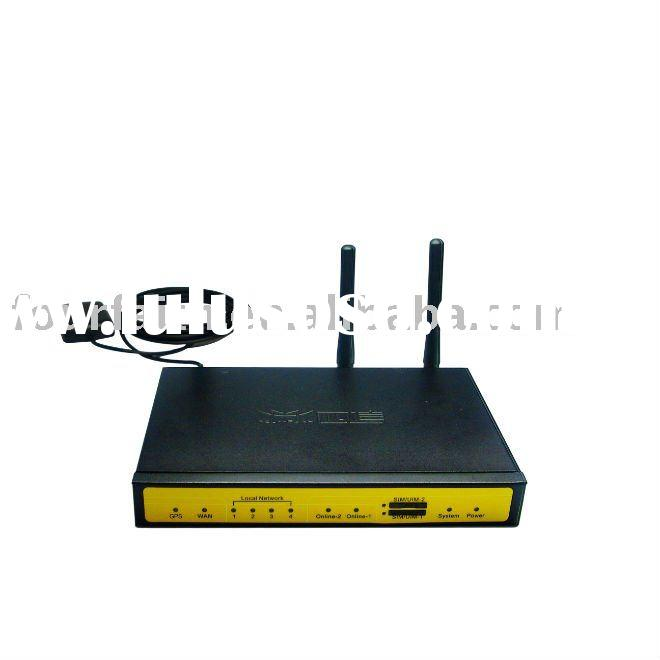 dual sim card 3g hspa gps router for atm, kiosk, pos(F7932)