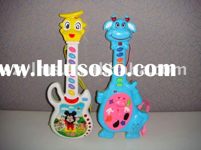 duck dog cat and many other animal image toy guita for children