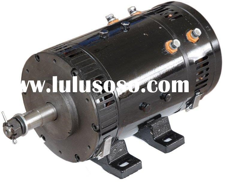 Electric Dc Traction Motor