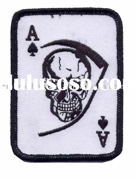 embroidery army patch military badges skull patches
