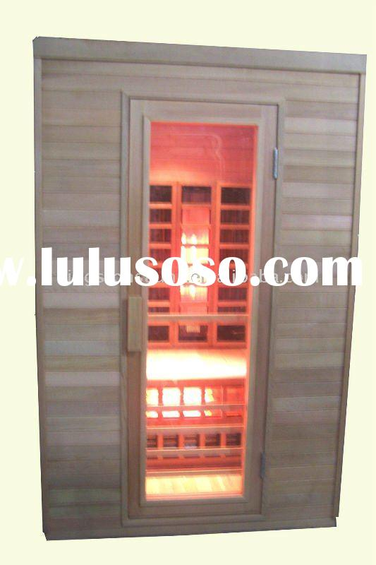 far infrared sauna with carbon fiber heater and golden heater