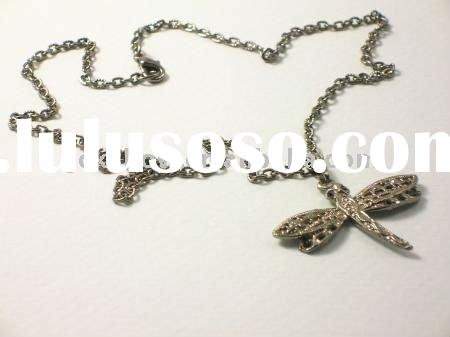 fashion dragonfly pendant jewelry
