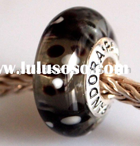 fashion glass beads for jewelry