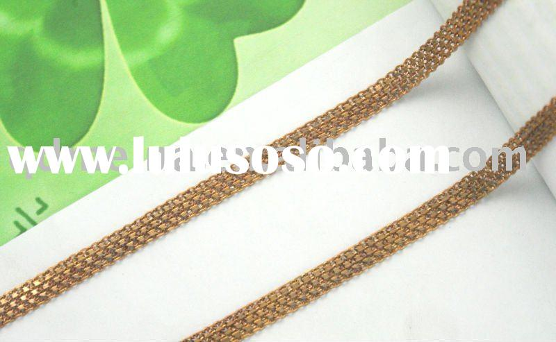 fashion gold plated chain jewelry