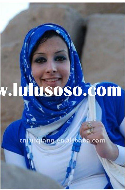 fashion ladies muslim scarf hijab with new style