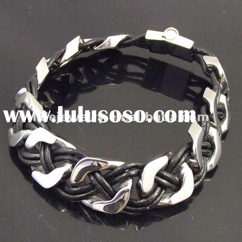 fashion leather bracelet jewelry