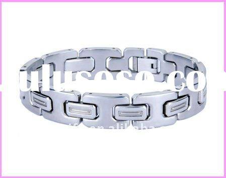 fashion men's jewelry 316L stainless steel bracelet