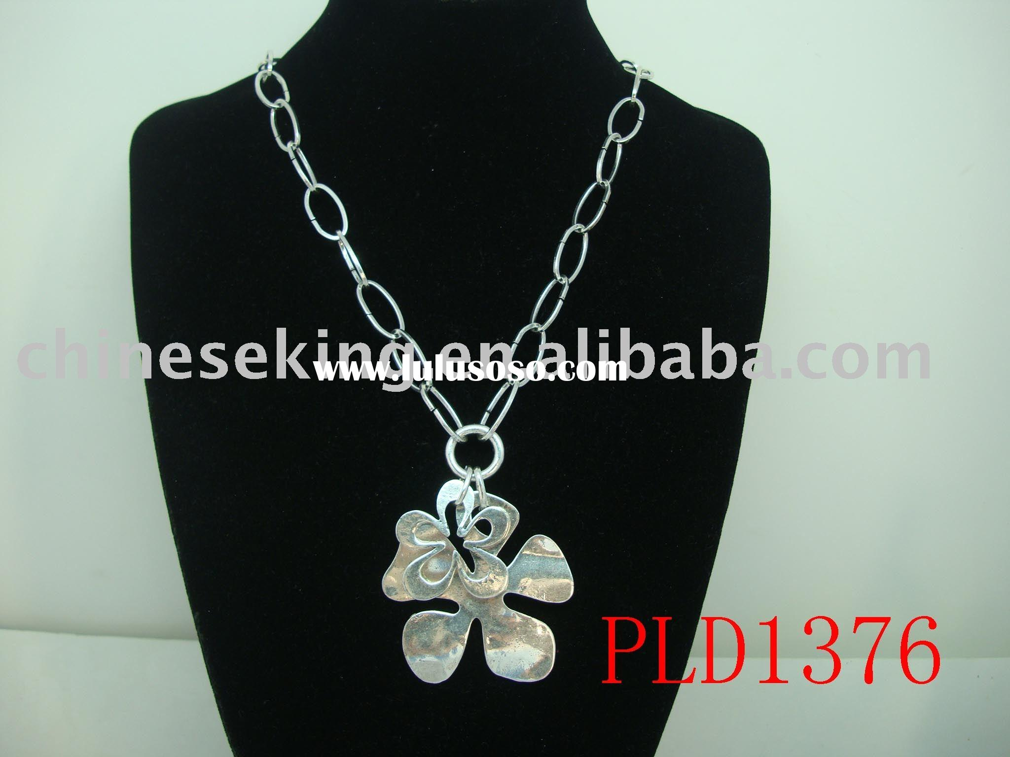 fashion metal necklace, alloy accessories for woman