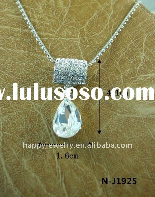 fashion necklace N-J1925, crystal necklace, pendant necklace