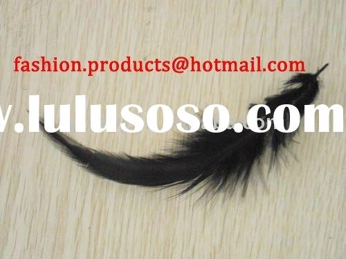 fashion rooster saddle feathers wholesale hair extensions real bird feather