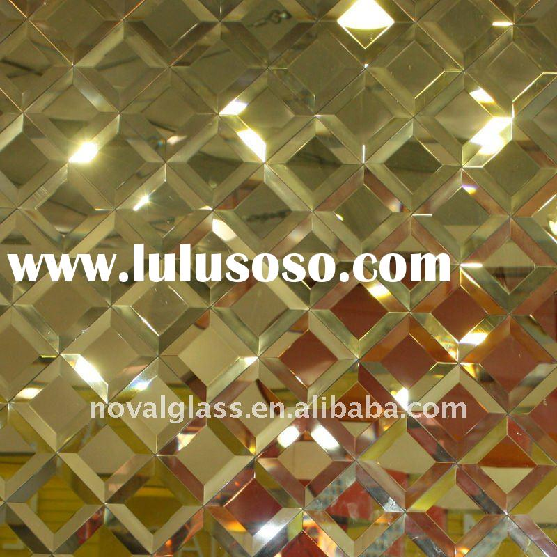 fashionable beveled wall mirror tiles