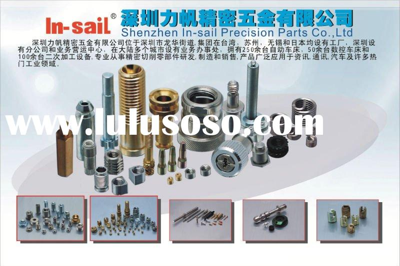 fastener,fasteners,threaded inserts,insert nut,brass nut,special fasteners,knurled nut,turning parts