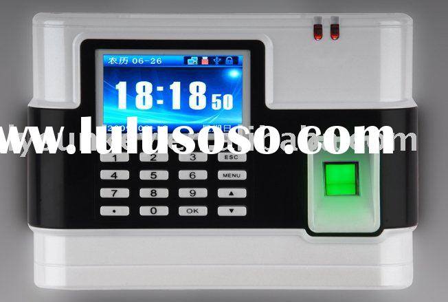 fingerprint time attendance and access control
