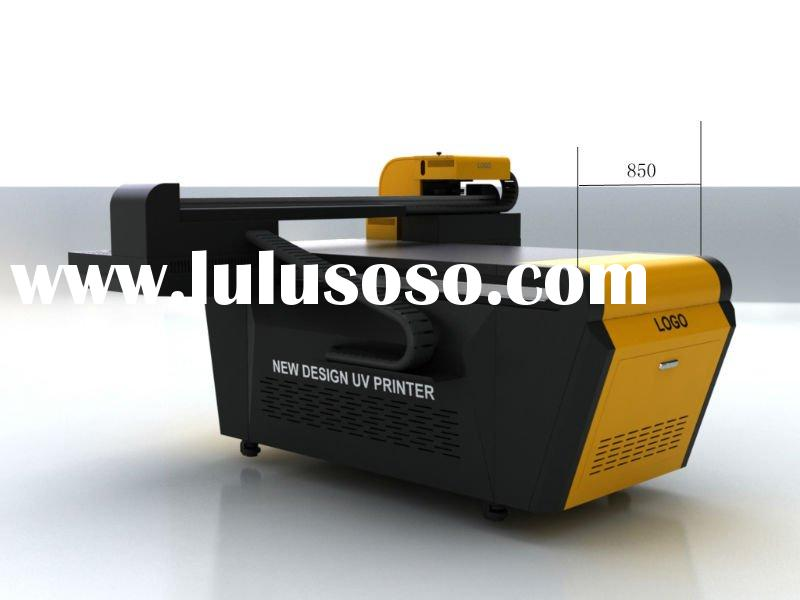 flatbed uv printer with white ink and clear coating direct print to all kinds materials