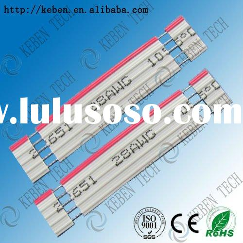 flexible flat extruded ribbon UL flat ribbon cable
